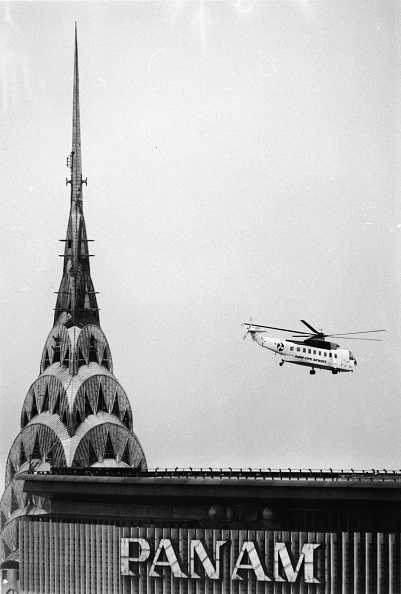 Skyscraper「Helicopter By Chrysler Building Spire」:写真・画像(5)[壁紙.com]