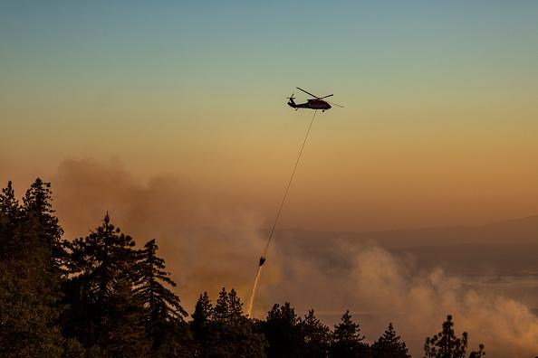 San Bernardino National Forest「Apple Fire In Southern California Forces Evacuations」:写真・画像(15)[壁紙.com]