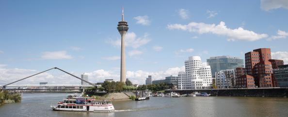 Urban Skyline「Duesseldorf MediaHarbor」:写真・画像(7)[壁紙.com]