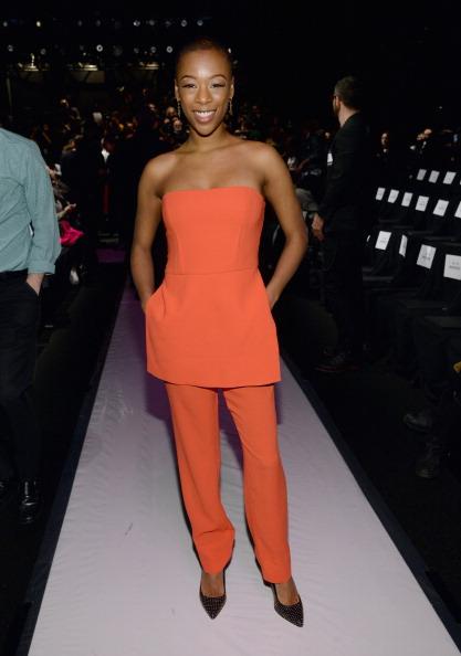 Pocket Dress「BCBGMAXAZRIA - Front Row - Mercedes-Benz Fashion Week Fall 2014」:写真・画像(2)[壁紙.com]