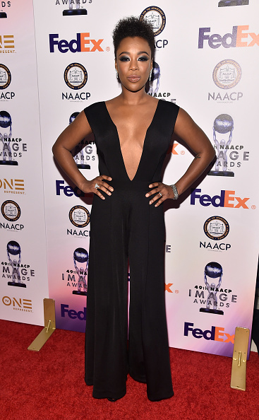 Black Jumpsuit「49th NAACP Image Awards - Non-Televised Awards Dinner and Ceremony」:写真・画像(4)[壁紙.com]