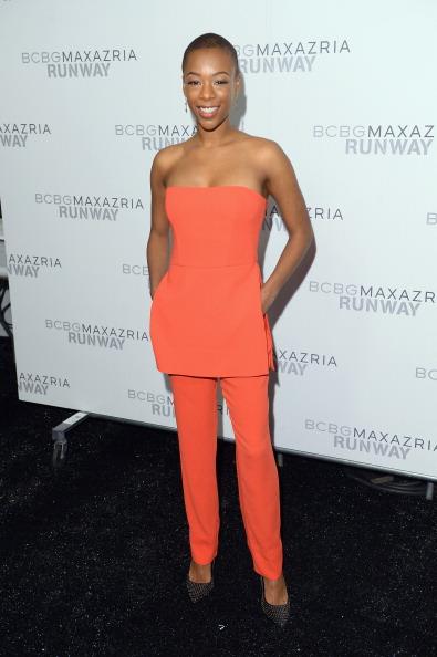 Pocket Dress「BCBGMAXAZRIA - Backstage - Mercedes-Benz Fashion Week Fall 2014」:写真・画像(3)[壁紙.com]