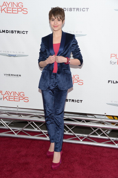 "Blue Jacket「Film District And Chrysler With The Cinema Society Premiere Of ""Playing For Keeps"" - Arrivals」:写真・画像(18)[壁紙.com]"