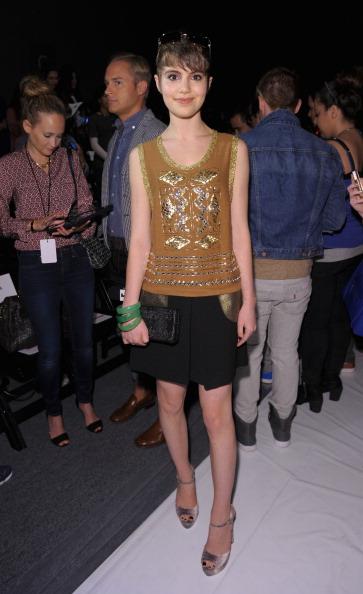 Metallic Shoe「Tracy Reese - Front Row - Spring 2013 Mercedes-Benz Fashion Week」:写真・画像(4)[壁紙.com]