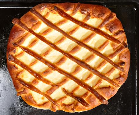 Griddle「blueberry pie on baking tray」:スマホ壁紙(6)