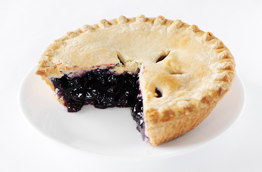 Stuffed「Blueberry pie with missing slice」:スマホ壁紙(9)