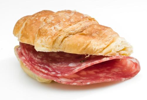 Bun - Bread「Salami mini croissant sandwich」:スマホ壁紙(7)