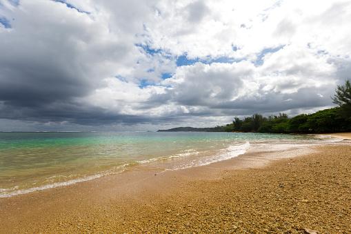 アニニビーチ「Anini Beach Kauai」:スマホ壁紙(2)