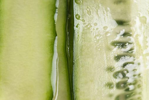 Cross Section「Close up of sliced cucumber」:スマホ壁紙(18)