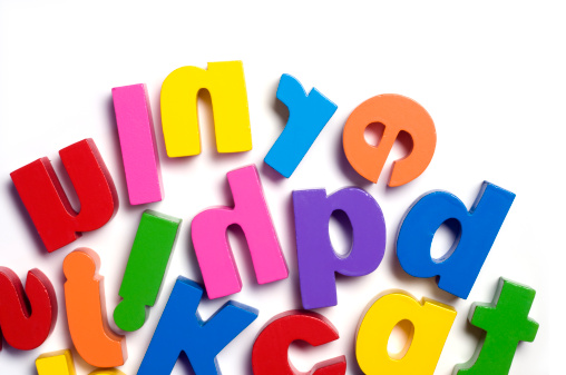 Magnet「Close up of a child's toy letters」:スマホ壁紙(13)