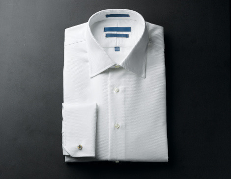 Formalwear「Close up of a white mens shirts」:スマホ壁紙(0)