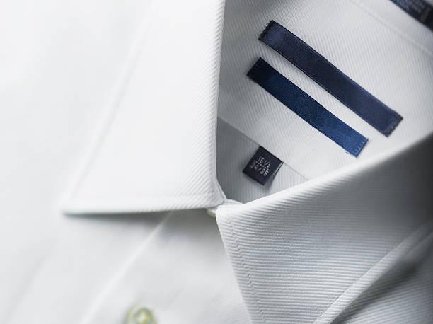 Close up of a white mens shirts:スマホ壁紙(壁紙.com)