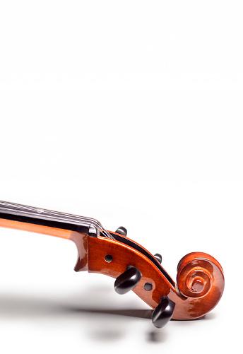 Tuning Peg「Close up of Cello head, upright image」:スマホ壁紙(11)