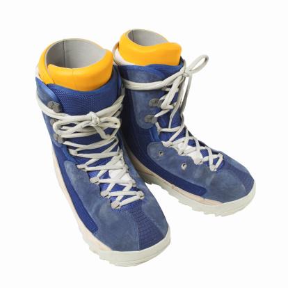 スノーボード「Close up of a pair of snow boots」:スマホ壁紙(14)