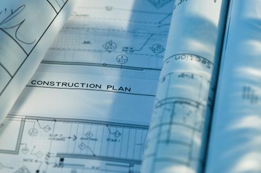 Blueprint「Close up of blueprints」:スマホ壁紙(18)