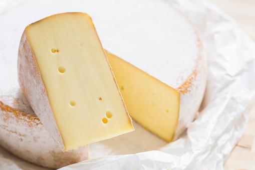 Cheese「Close up of cheese circle」:スマホ壁紙(9)