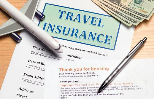 Anticipation「Close up of travel insurance form」:スマホ壁紙(1)