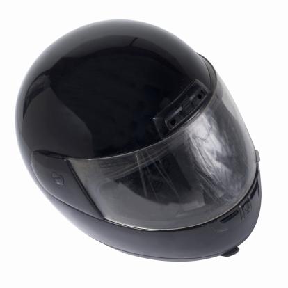 Motorcycle「Close up of a motorbike helmet」:スマホ壁紙(6)