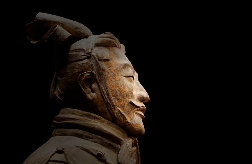 Ancient Civilization「Close up of Chinese statue.」:スマホ壁紙(19)