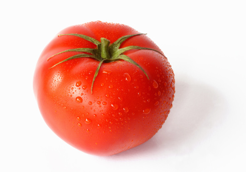 Beefsteak Tomato「Close up of a large red, ripe beef tomato」:スマホ壁紙(13)