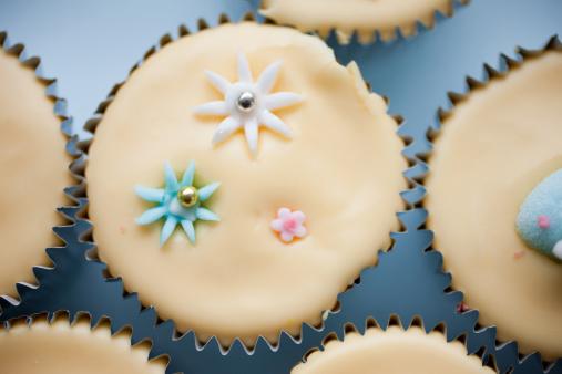 イースター「クローズアップのイースターカップケーキ」:スマホ壁紙(13)