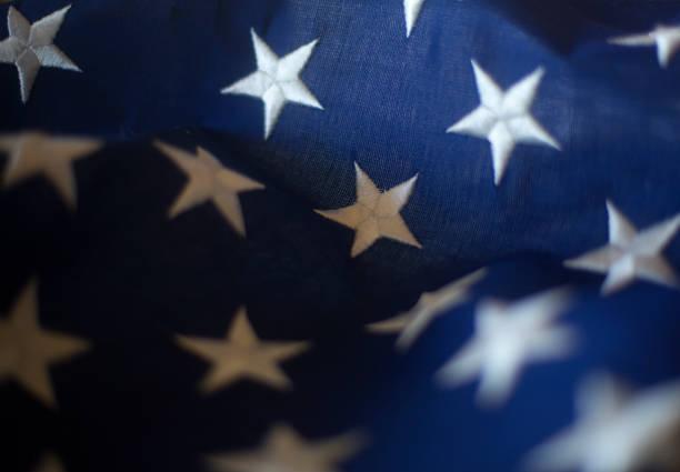 Close up of American flag:スマホ壁紙(壁紙.com)