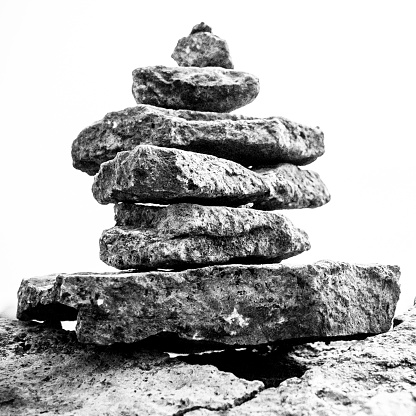 Stability「Close up of stacked rocks」:スマホ壁紙(16)
