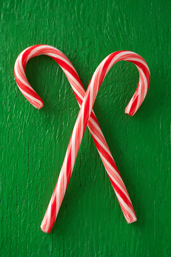 Candy Cane「Close up of candy canes」:スマホ壁紙(16)