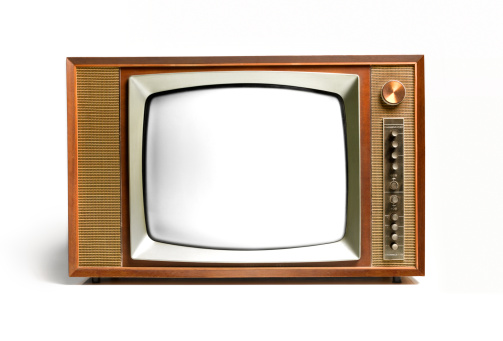 1960-1969「Close up of a retro television」:スマホ壁紙(11)
