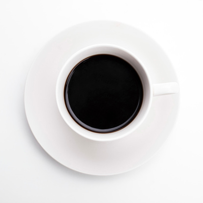 Saucer「Close up of cup of black coffee」:スマホ壁紙(16)
