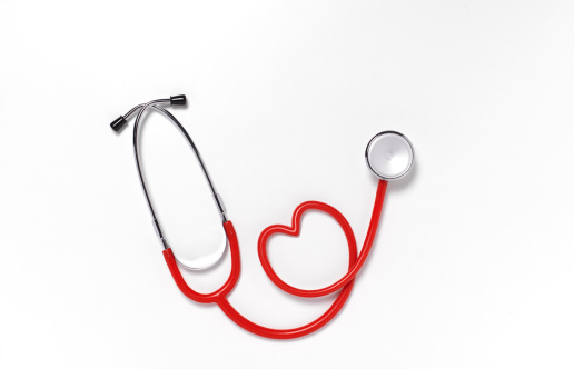 Heart「Close up of heart shaped stethoscope」:スマホ壁紙(4)
