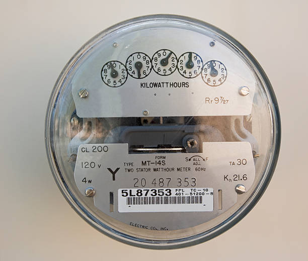 Close up of electric meter:スマホ壁紙(壁紙.com)