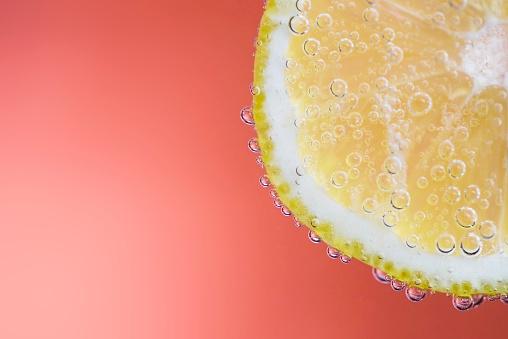 息抜き「Close up of a slice of lemon」:スマホ壁紙(13)