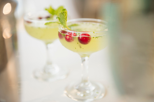 Cherry「Close up of cocktails with garnish」:スマホ壁紙(17)