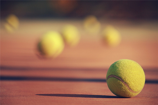 テニス「Close up of tennis ball」:スマホ壁紙(5)