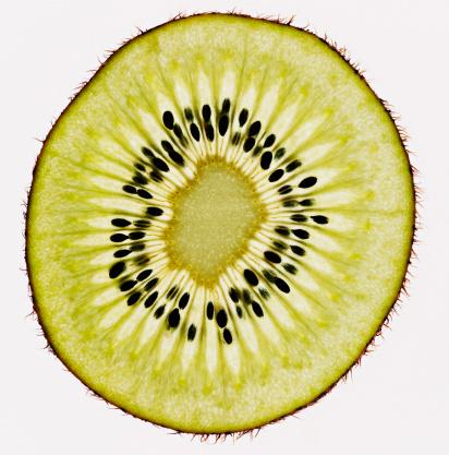 Kiwi「Close up of kiwi slice」:スマホ壁紙(6)