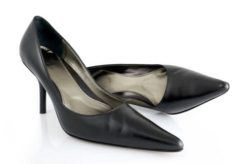Cool Attitude「A close up of women's black high heel shoes」:スマホ壁紙(9)