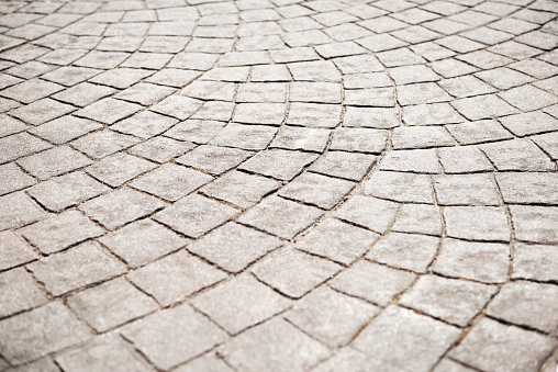 Paving Stone「Close up of cobbled road courtyard」:スマホ壁紙(17)