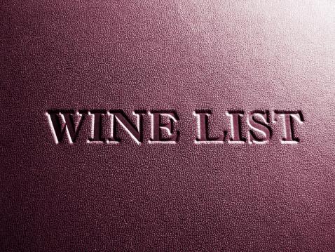 名画「クローズアップの高級レストランのワインリストのカバー」:スマホ壁紙(4)