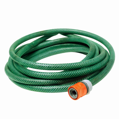 Garden Hose「Close up of a water hose」:スマホ壁紙(5)
