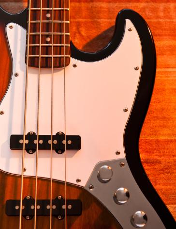 Bass Guitar「Close up of bass guitar」:スマホ壁紙(0)