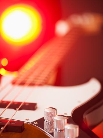 Bass Guitar「Close up of bass guitar」:スマホ壁紙(19)