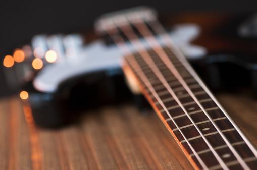Bass Guitar「Close up of bass guitar」:スマホ壁紙(11)
