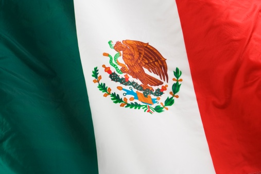 Patriotism「Close up of flag of Mexico」:スマホ壁紙(16)