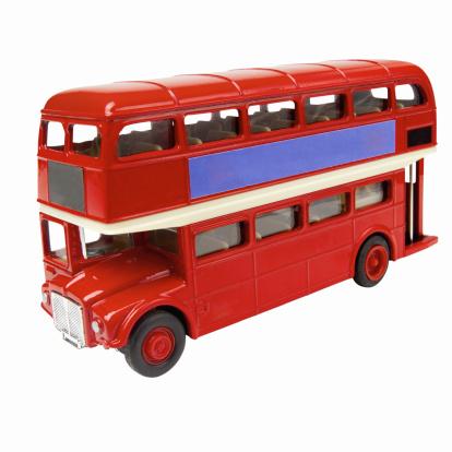 Double-Decker Bus「Close up of a toy bus」:スマホ壁紙(13)