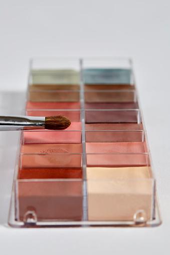 ファッション・コスメ「Close up of eye shadow palette」:スマホ壁紙(1)