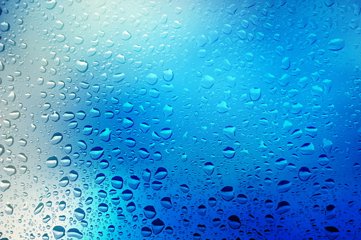 Water Surface「Close up of water droplets on a window」:スマホ壁紙(5)