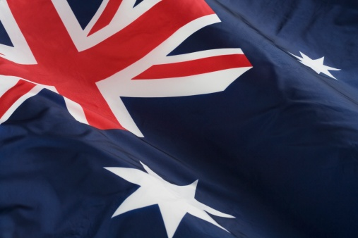 Patriotism「Close up of flag of Australia」:スマホ壁紙(19)