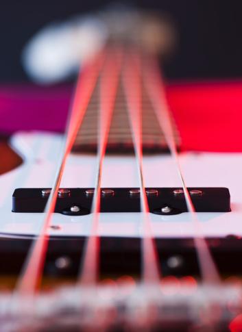Rock Music「Close up of strings of bass guitar」:スマホ壁紙(14)