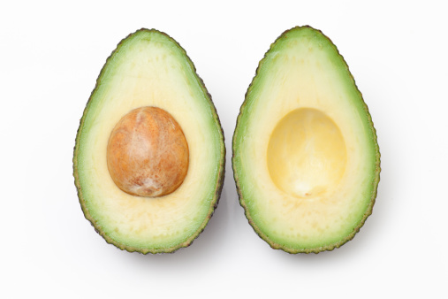 Avocado「Close up of an Avocado cut in half」:スマホ壁紙(4)